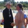 rozmowy na plaży