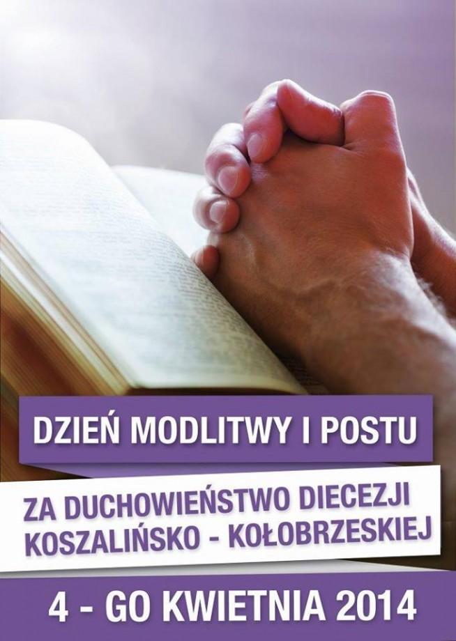 modlitwa i post za duchowieństwo