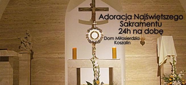 Adoracja w Domu Miłosierdzia